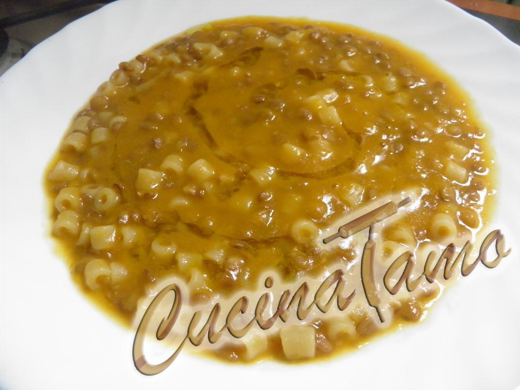 ricetta cremosa di pasta e lenticchie - cucinatamo - Cucinare Pasta E Lenticchie