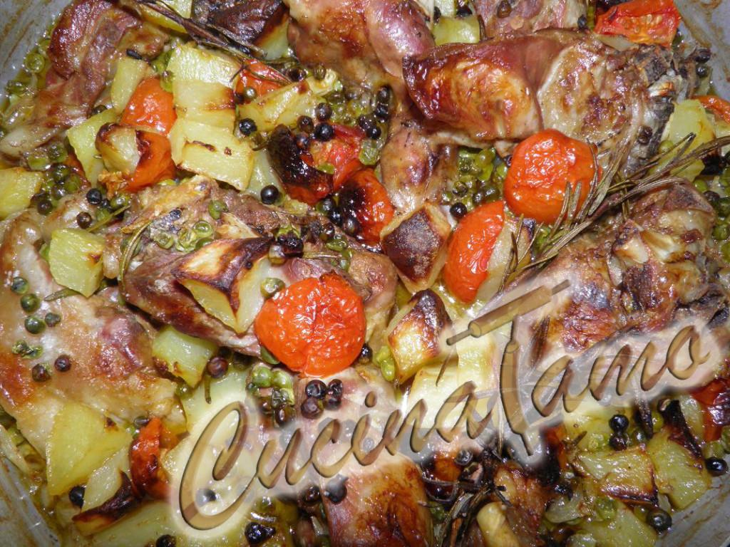 Capretto al forno ricetta tradizionale campana cucinatamo - Forno microonde e tradizionale insieme ...